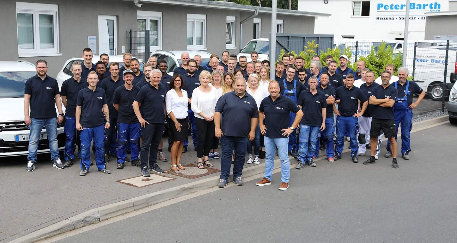 Das Team der Peter Barth GmbH Wuppertal